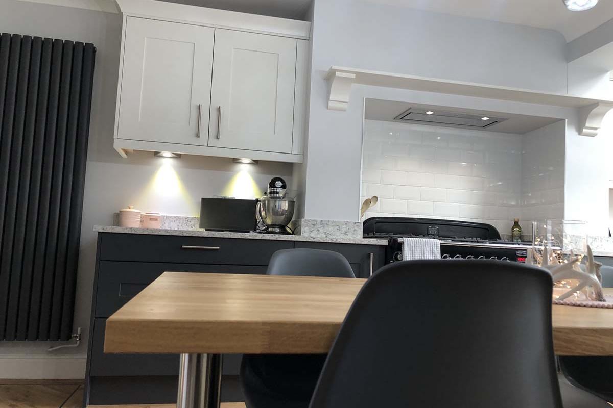 shaker kitchen instalation